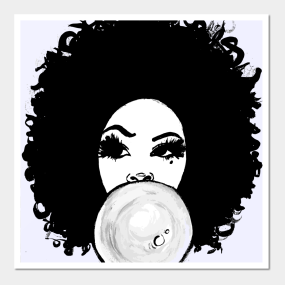 Natural Hair Posters And Art Prints Teepublic