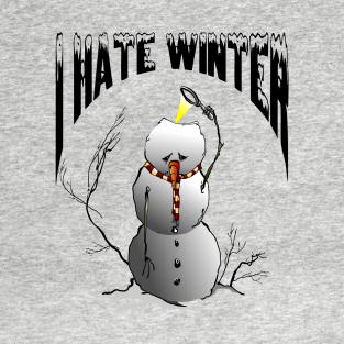 64d110094c Main Tag Hate Winter T-Shirt