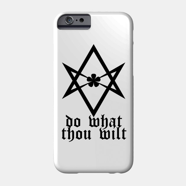 Do What Thou Wilt iPhone 11 case