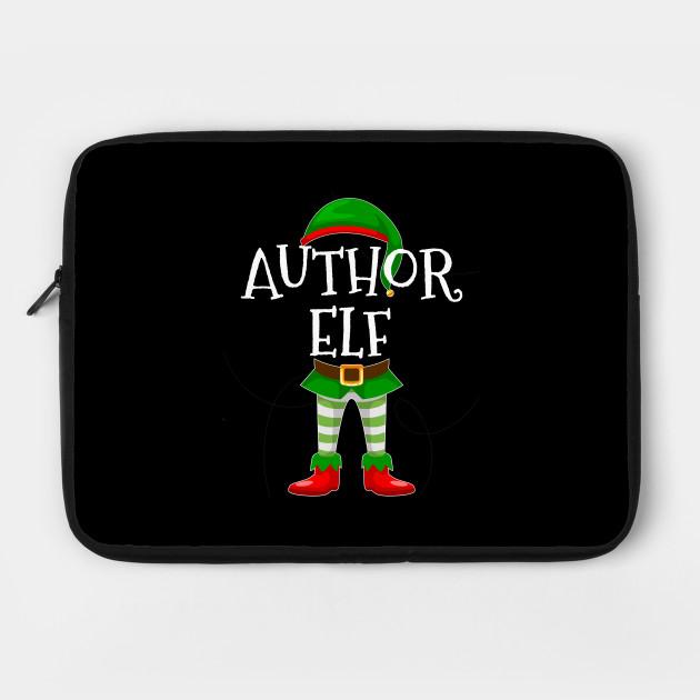 Author Elf Matching Family Christmas Gift Design