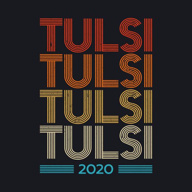 Tulsi Gabbard 2020 Vintage Style T-Shirt