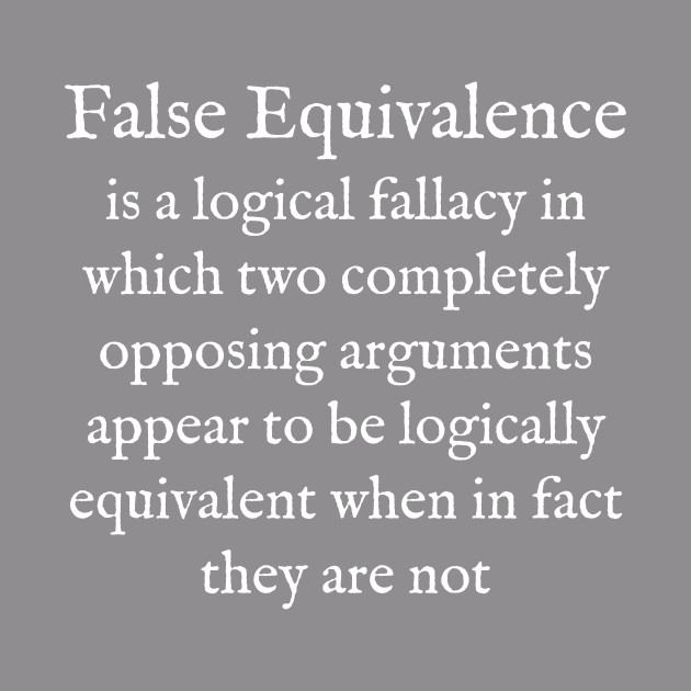 F:False Equivalence:English:White Text:WearYourWords ...