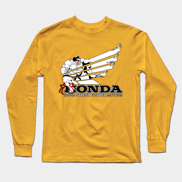 Sleeve Fighter Long Honda Shirt Motor Street T mN0yvnP8wO