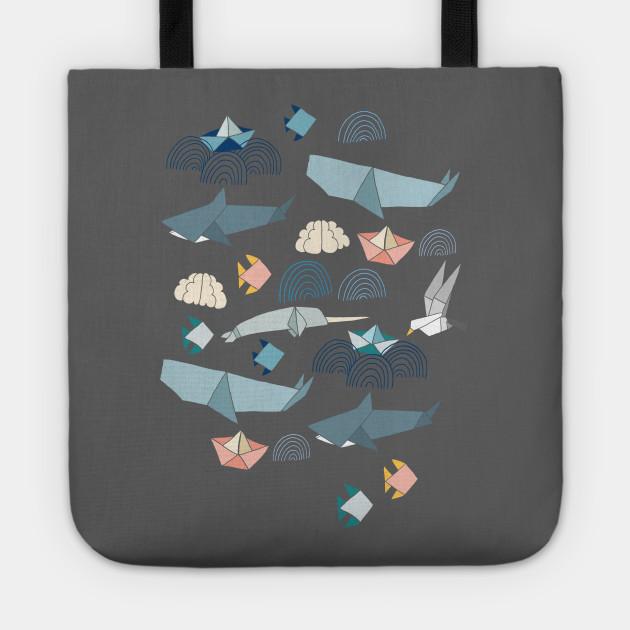 Marine Origami Animals