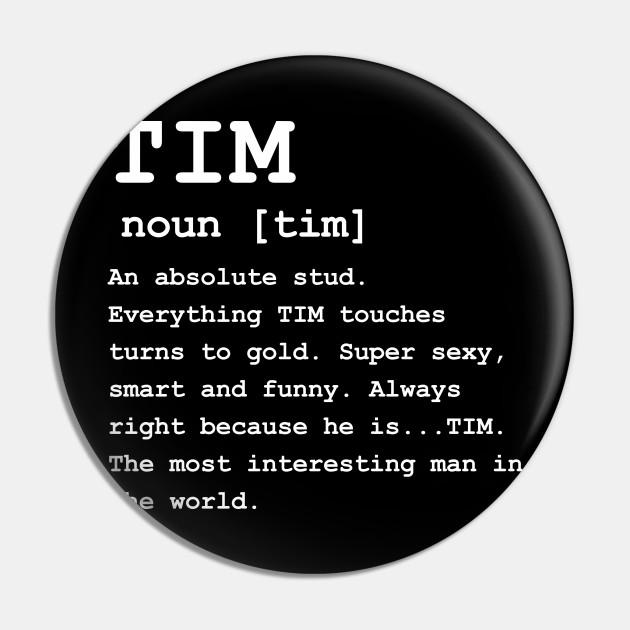 Adult Definition - First Name Tim Men
