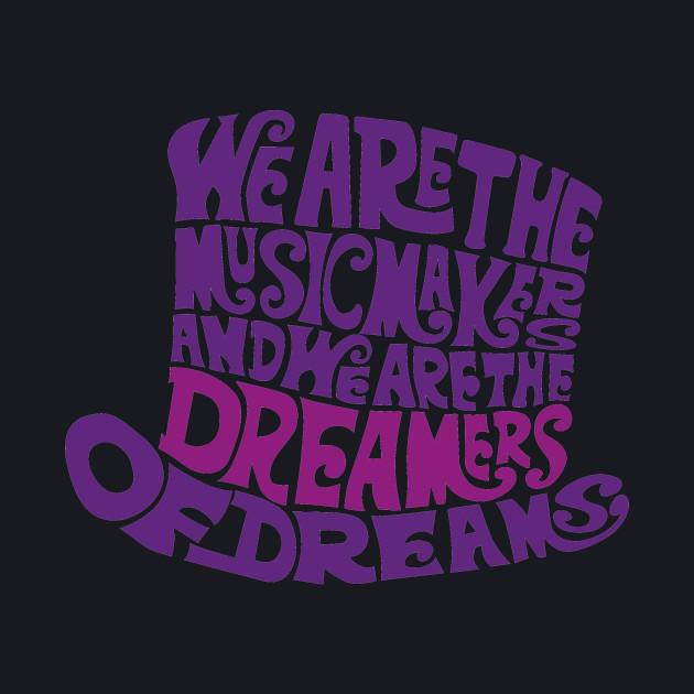 Willy Wonka Hat Dreams - Purple