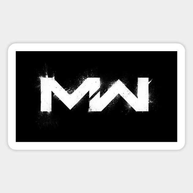 Modern Warfare Logo Texturized Call Of Duty Magnet Teepublic Au