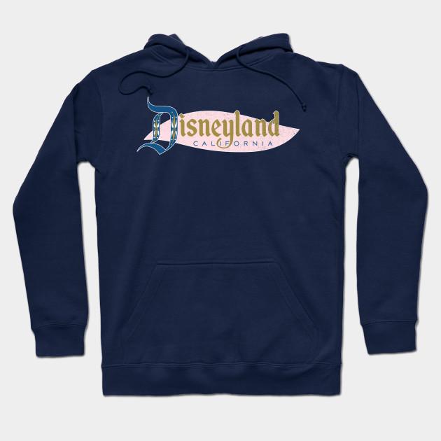 Vintage Disneyland Logo (dark shirts)