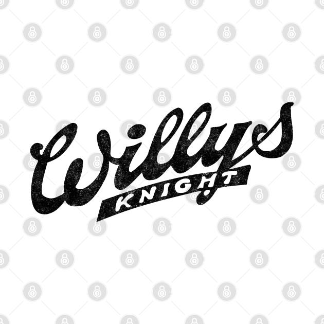 Retro Classic Cats Willys Knight l