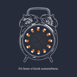 Beer O'Clock t-shirts
