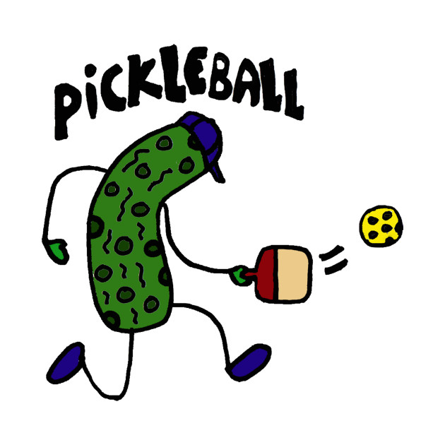 Funky Funny Pickle is Playing Pickleball