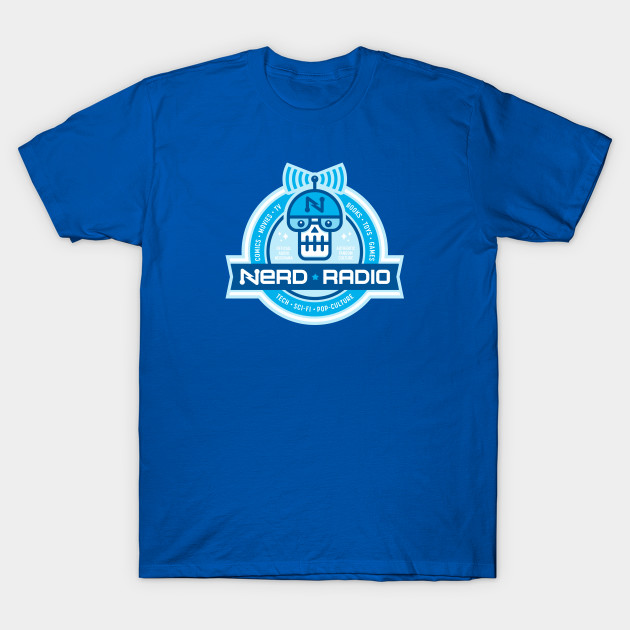 Official Nerd Radio Seal Tee