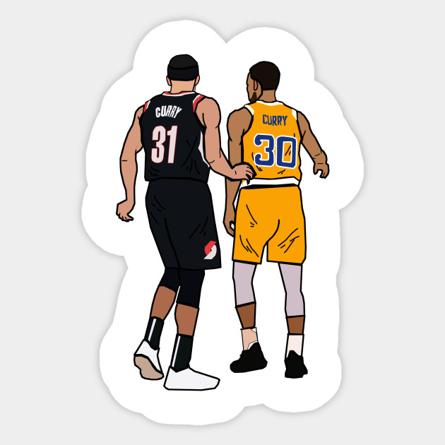 half off f1dd9 63046 Steph Curry x Seth Curry 'Splash Brothers' - Portland Trailblazers/Golden  State Warriors