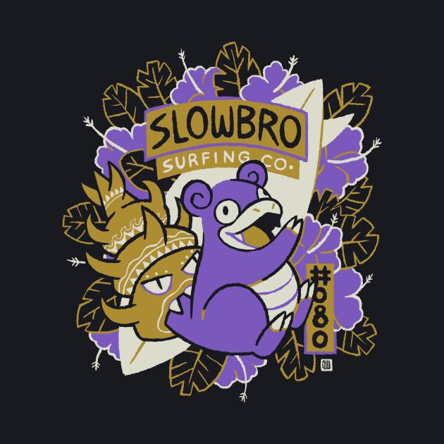 Shiny Slowbro Surfing Co.