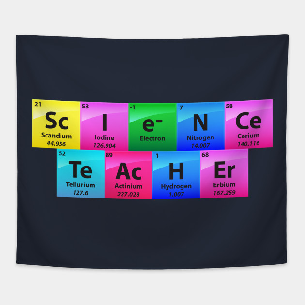 Science Teacher Periodic Table Of Elements   Chemistry Quotes