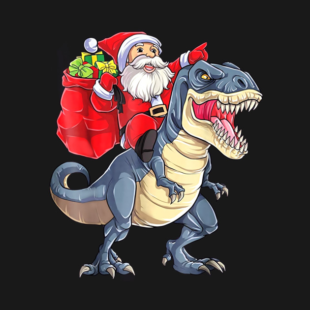 Dinosaur Christmas.Dinosaur Christmas Shirt Boys Santa T Rex Kids Xmas Gifts