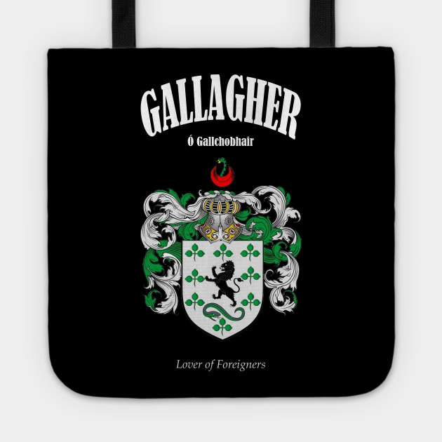 Gallagher Family Coat of Arms Translation and Meaning