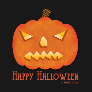 13bc818e Happy Halloween Jack-O-Lantern T-Shirt