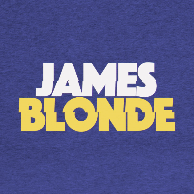 James Blonde Classic Logo Merch