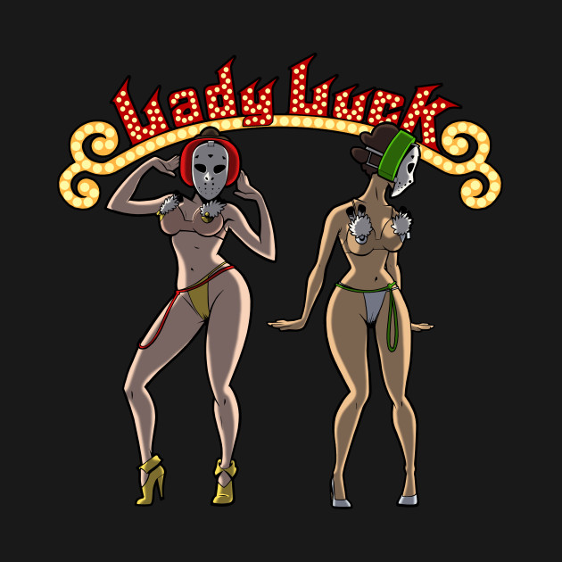 Lady Luck Hockey Mask Dancers