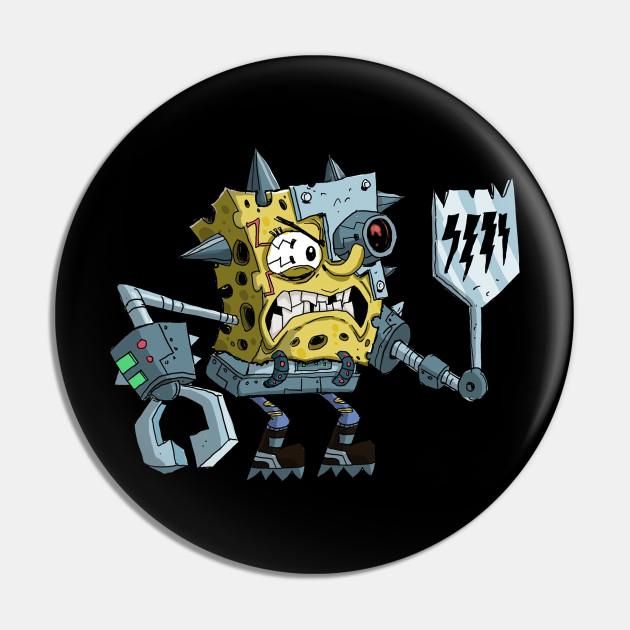 cyborg Sponge bob