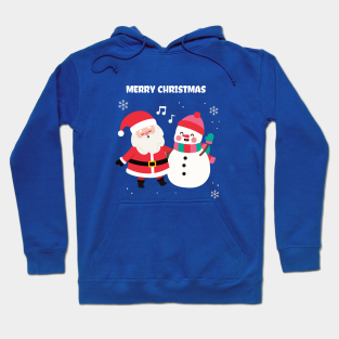 Enjoy Christmas Tis The Season Santa North Pole Snowflake Ho Ho Hoodies for Men
