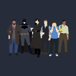 The Detectives t-shirts