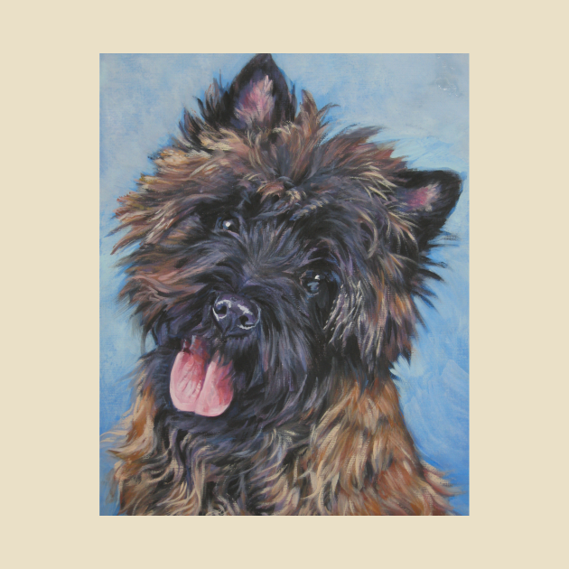 Cairn Terrier Fine Art Painting
