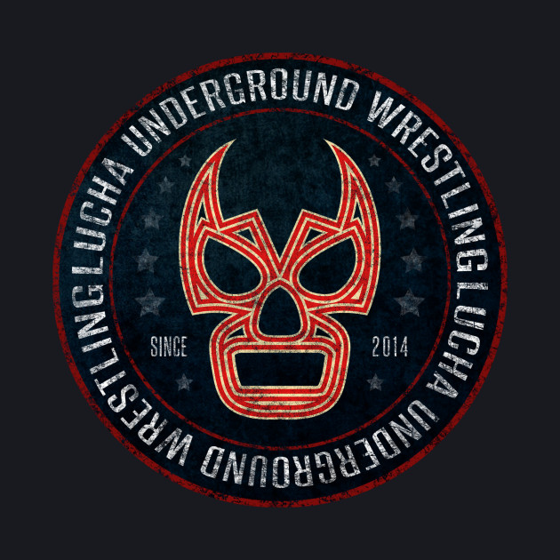 Lucha Underground - Badge - Blue
