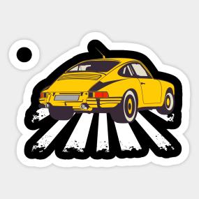 Porsche Stickers Teepublic