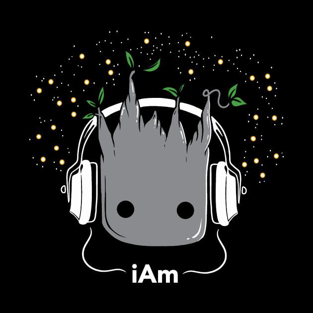I Am Groot - Cute Baby Groot