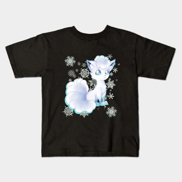 fb244dbe Alolan Vulpix - Pokemon - Kids T-Shirt | TeePublic