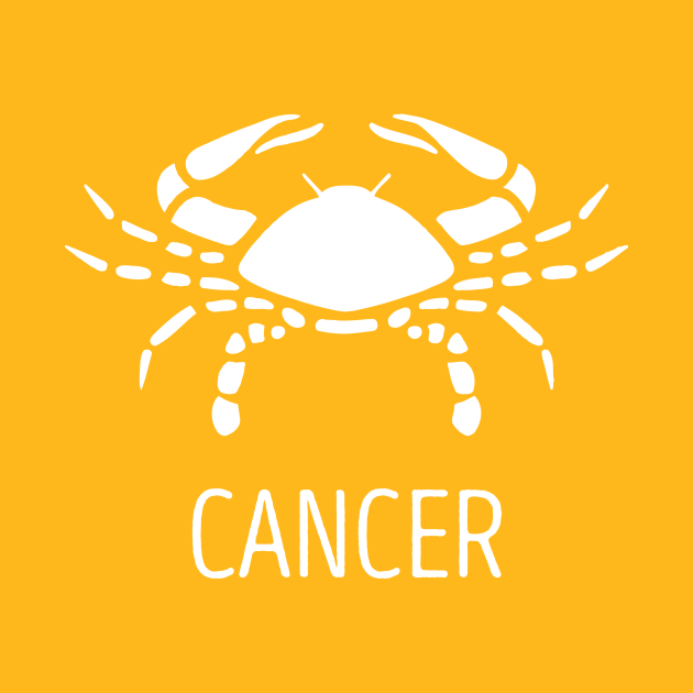 Astrological Zodiac Tee Shirts - Cancer the Crab