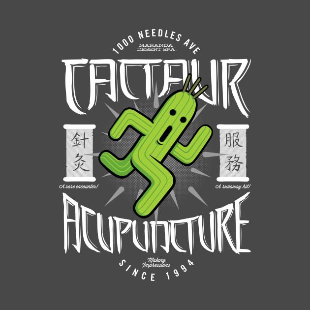 Cactaur Acupuncture T-Shirt