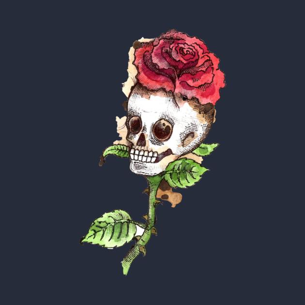 Flower skull crown skull kids t shirt teepublic 2369291 1 mightylinksfo