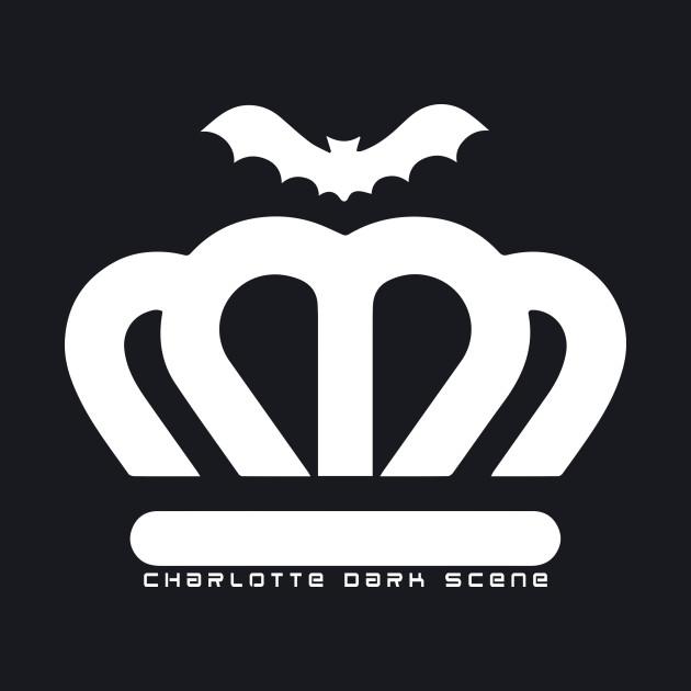 Charlotte Dark Scene white logo