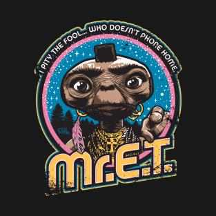 Mr. E.T. - 80s Retro Vintage Mash-Up t-shirts