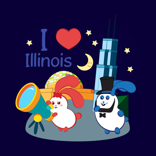 Ernest and Coraline | I love Illinois