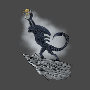 The Alien King t-shirts