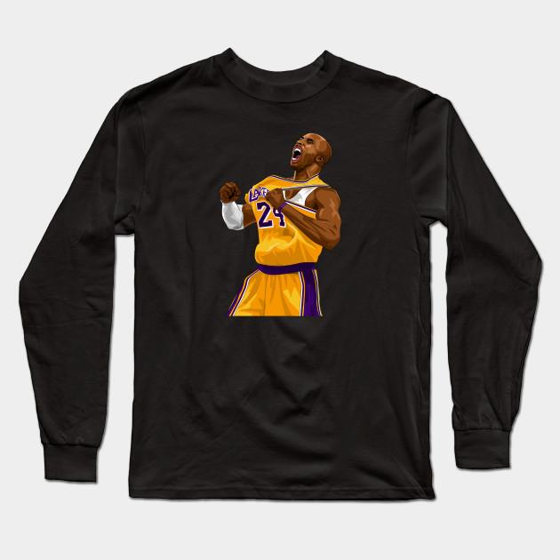 6448d3507 Mamba Hype - Kobe Bryant - Long Sleeve T-Shirt