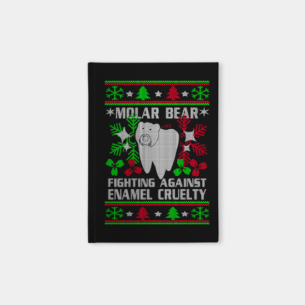 8d62a538 Molar Bear Fighting Against Enamel Cruelty Merry Christmas - Molar ...