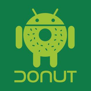 Droid Donut 1 t-shirts