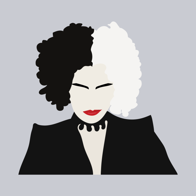 Cruella Inspired Portrait