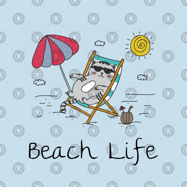 Coming Kids Beachlife.Beach Life Cat In Beach Chair