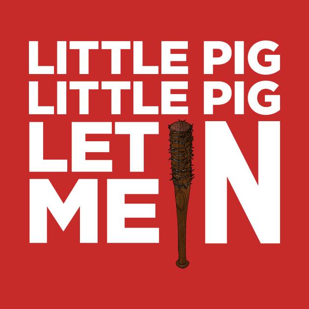 Little Pig Little Pig Let Me In.