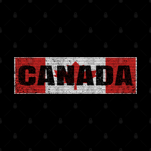 Canadian National Flag Vintage Canada Country Gift