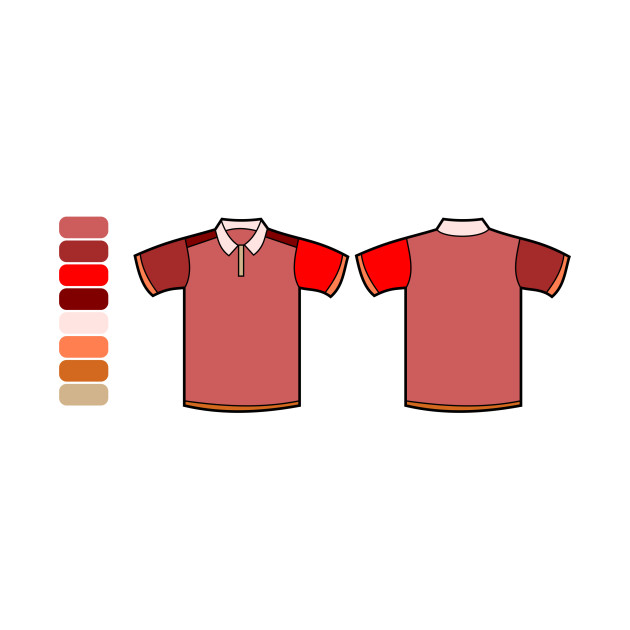 LIMITED EDITION. Exclusive Polo Shirt Template Color Remix - Polo ...