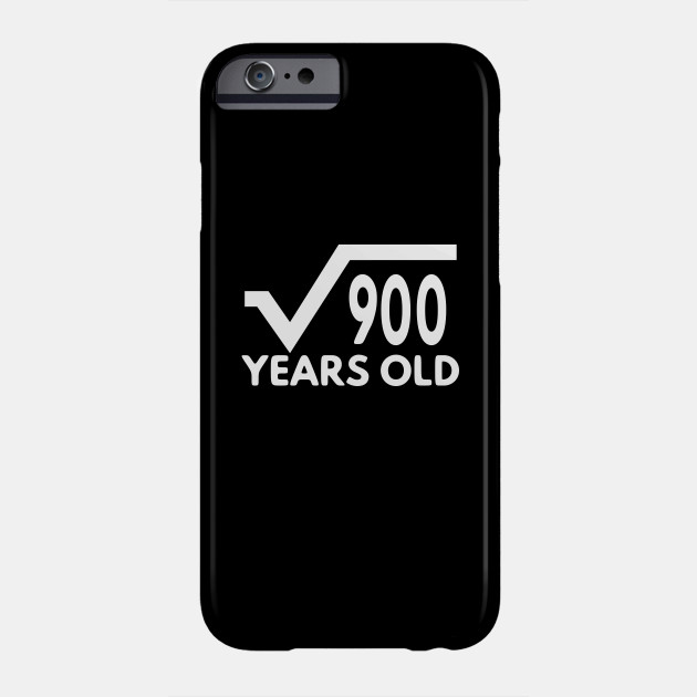 Funny Math T Shirt For Men Birthday Gift Of Age Boy And Girl 30th Idea Phone Case