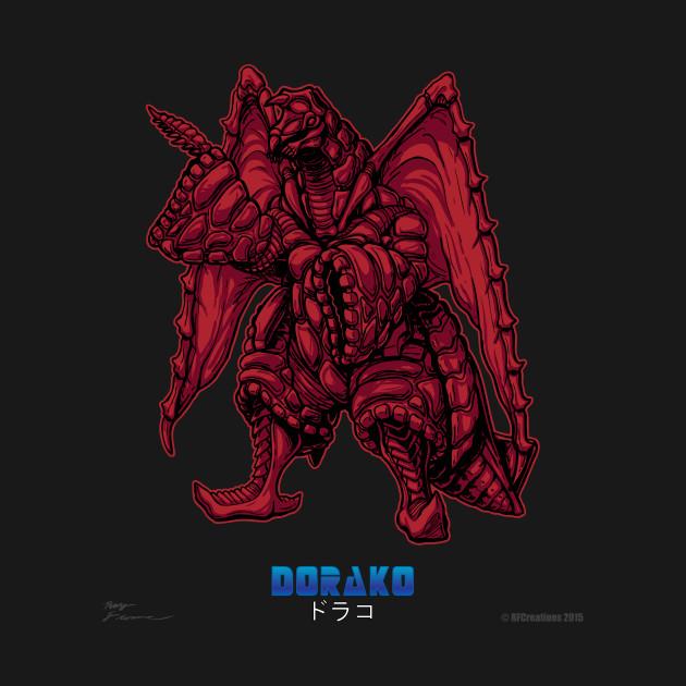 Powered Kaiju - The Comet Monster