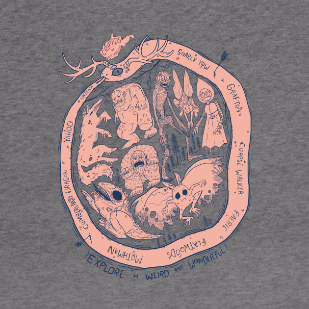 West Virginia Cryptids : Explore the Weird and Wonderful T-Shirt T-Shirt